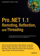 Pro  NET 1 1 Remoting  Reflection  and Threading