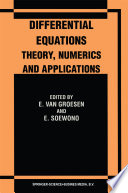 Differential Equations Theory, Numerics and Applications