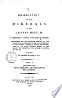 A Description of the Minerals in the Leskean Museum