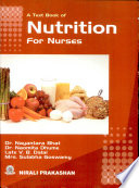 A Text Book Of Nutrition For Nurses