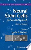 Neural Stem Cells Book PDF
