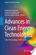 Advances in Clean Energy Technologies