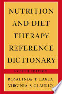 Nutrition and Diet Therapy Reference Dictionary Book