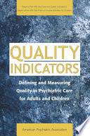 Quality Indicators