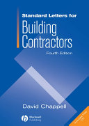 Standard Letters for Building Contractors