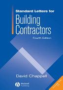 Standard Letters for Building Contractors