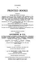 Auction Catalogs  Hodgson s Rooms