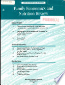 Family Economics and Nutrition Review