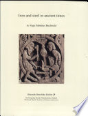 Iron and Steel in Ancient Times by Vagn Fabritius Buchwald PDF