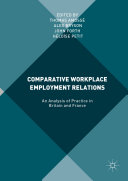 Comparative Workplace Employment Relations