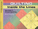 Free Quilting Inside the Lines Book