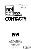 News Bureau Contacts