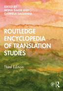 Pdf Routledge Encyclopedia of Translation Studies Telecharger
