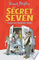 Puzzle For The Secret Seven Book