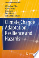 Climate Change Adaptation Resilience And Hazards Book PDF
