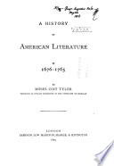 A History of American Literature During the Colonial Time    Book PDF