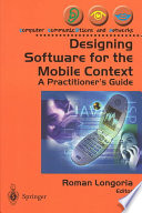 Designing Software For The Mobile Context Book PDF