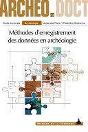 Méthodes d'enregistrement des données en archéologie [Pdf/ePub] eBook