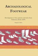 Archaeological Footwear PDF