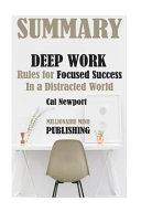 Summary of Deep Work Book PDF