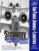 Air Force journal of logistics: vol24_no2 Pdf/ePub eBook