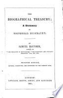 The Biographical Treasury