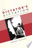 The Dictator S Dictation Book PDF
