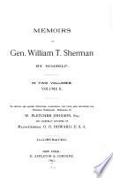 Memoirs of Gen  William T  Sherman