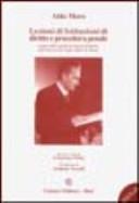 Lezioni di istituzioni di diritto e procedura penale