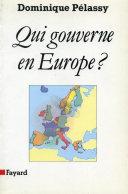 Pdf Qui gouverne en Europe ? Telecharger