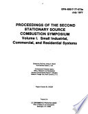 Proceedings Of The Second Stationary Source Combustion Symposium