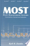 MOST Work Measurement Systems  Third Edition