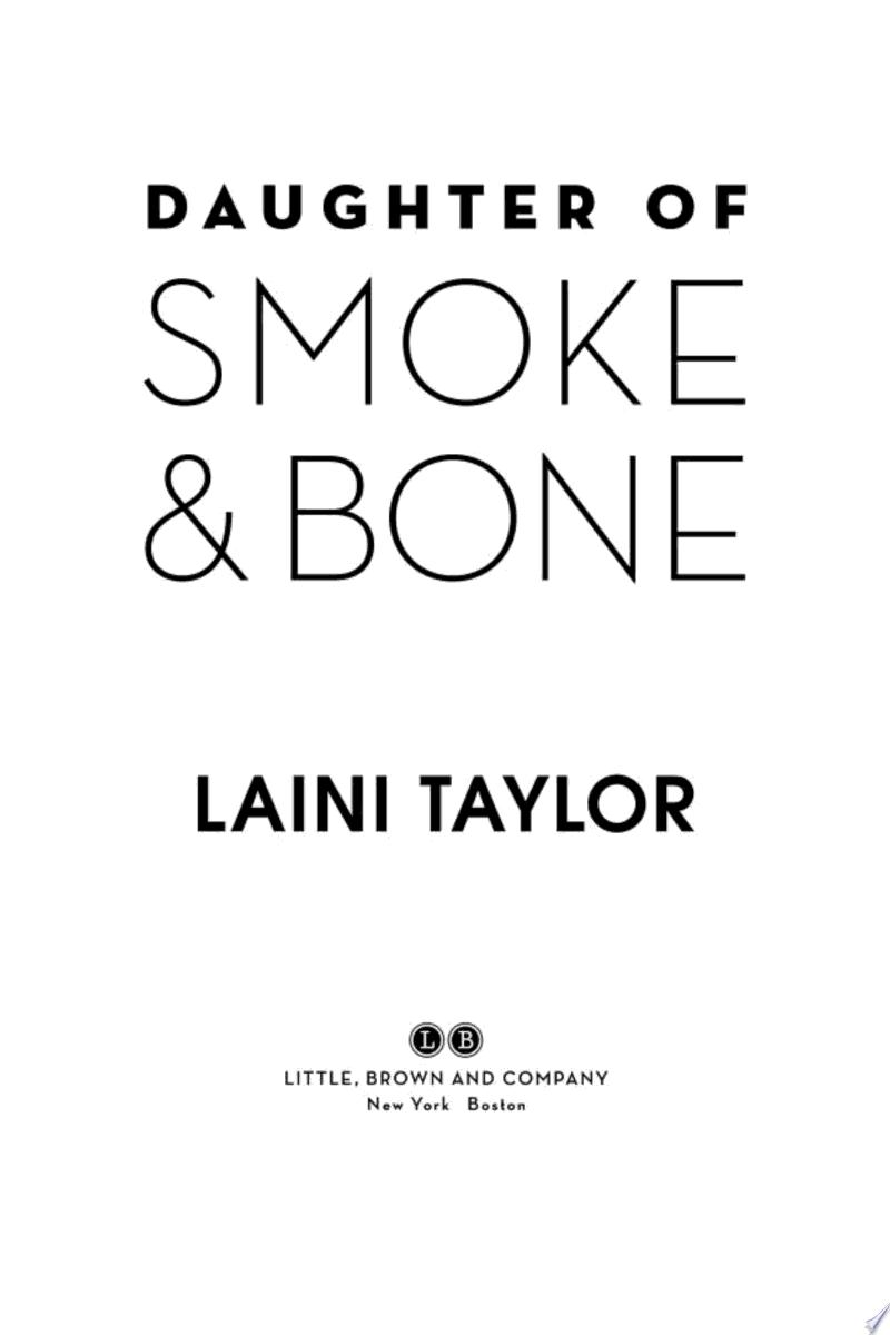 Daughter of Smoke & Bone banner backdrop