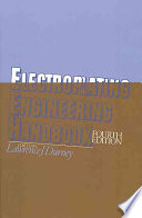 """Graham's Electroplating Engineering Handbook"" by L.J. Durney"