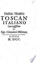 Passa-tempo toscan'italiano curiosissimo
