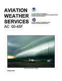 Aviation Weather Services Book