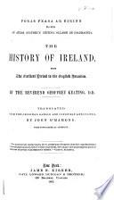 Foras feasa ar Eirinn     The history of Ireland  tr  and annotated by J  O Mahony