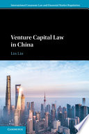 Venture Capital Law in China