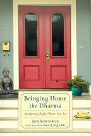 Bringing Home the Dharma