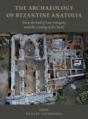 Pdf The Archaeology of Byzantine Anatolia Telecharger