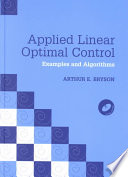 Applied Linear Optimal Control Hardback with CD-ROM