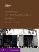Manifeste du Parti communiste ebook