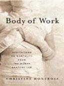 Body of Work Pdf/ePub eBook
