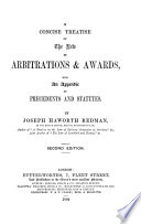 A Concise Treatise On The Law Of Arbitrations Awards