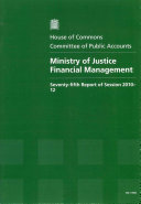 Ministry of Justice financial management
