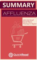 Summary of «Affluenza» by John De Graaf - Free book by QuickRead.com ebook