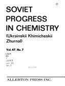 Soviet Progress in Chemistry