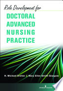Role Development for Doctoral Advanced Nursing Practice Book