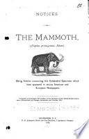 Notices of the Mammoth