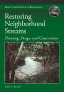 Restoring Neighborhood Streams